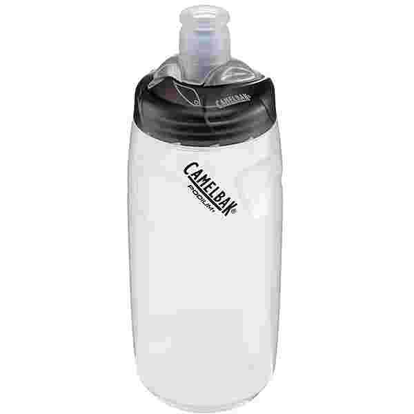 Camelbak Podium 620 ml Trinkflasche clear/logo