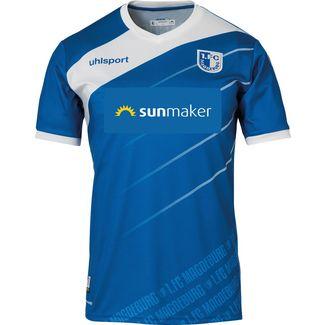Uhlsport 1. FC Magdeburg 18/19 Heim Fußballtrikot Herren azurblau-weiß