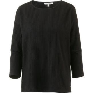 TOM TAILOR Langarmshirt Damen deep black