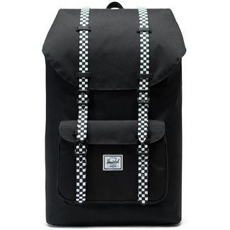 Herschel Rucksack Little America Daypack black-checkerboard
