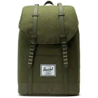 Herschel Rucksack Retreat Daypack olive night crosshatch-olive night