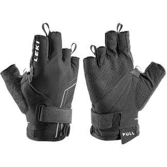 LEKI Nordic Breeze Shark Short Nordic Walking Handschuhe black-white