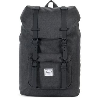 Herschel Rucksack Little America Mid-Volume Daypack black crosshatch-black