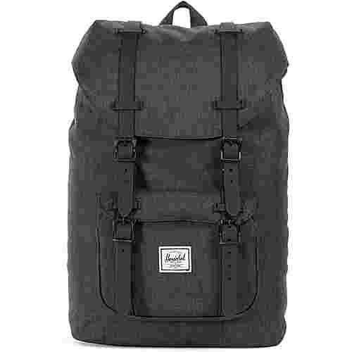 Herschel Rucksack Little America Mid-Volume Daypack black crosshatch-black