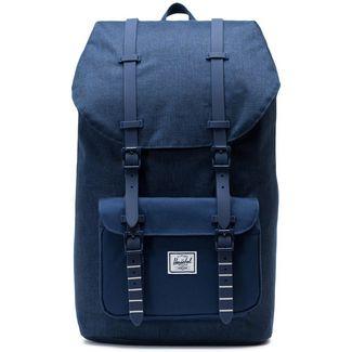 Herschel Rucksack Little America Daypack medieval blue crosshatch-medieval blue
