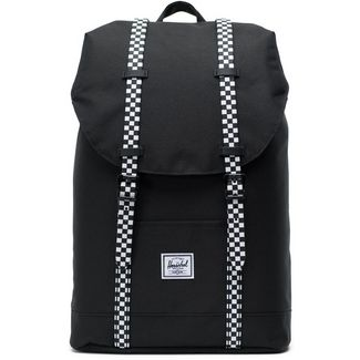 Herschel Rucksack Retreat Mid-Volume Daypack black-checkerboard