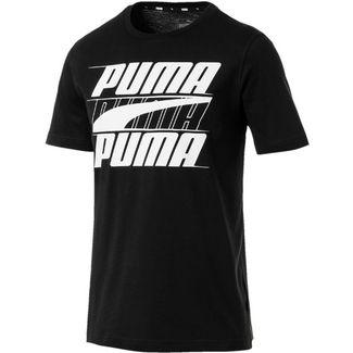 PUMA Rebel T-Shirt Herren cotton black