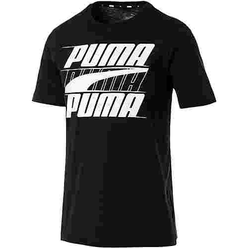 PUMA Rebel T-Shirt Herren cotton black