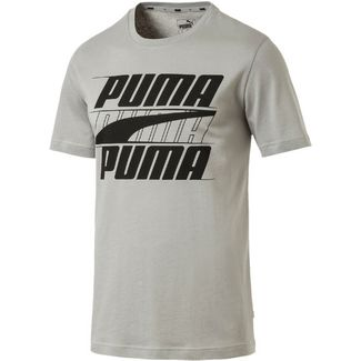 PUMA Rebel T-Shirt Herren limestone