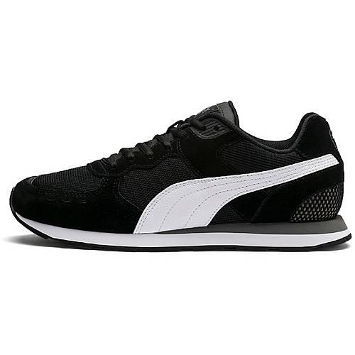 PUMA Vista Sneaker Herren puma black puma white charcoal im
