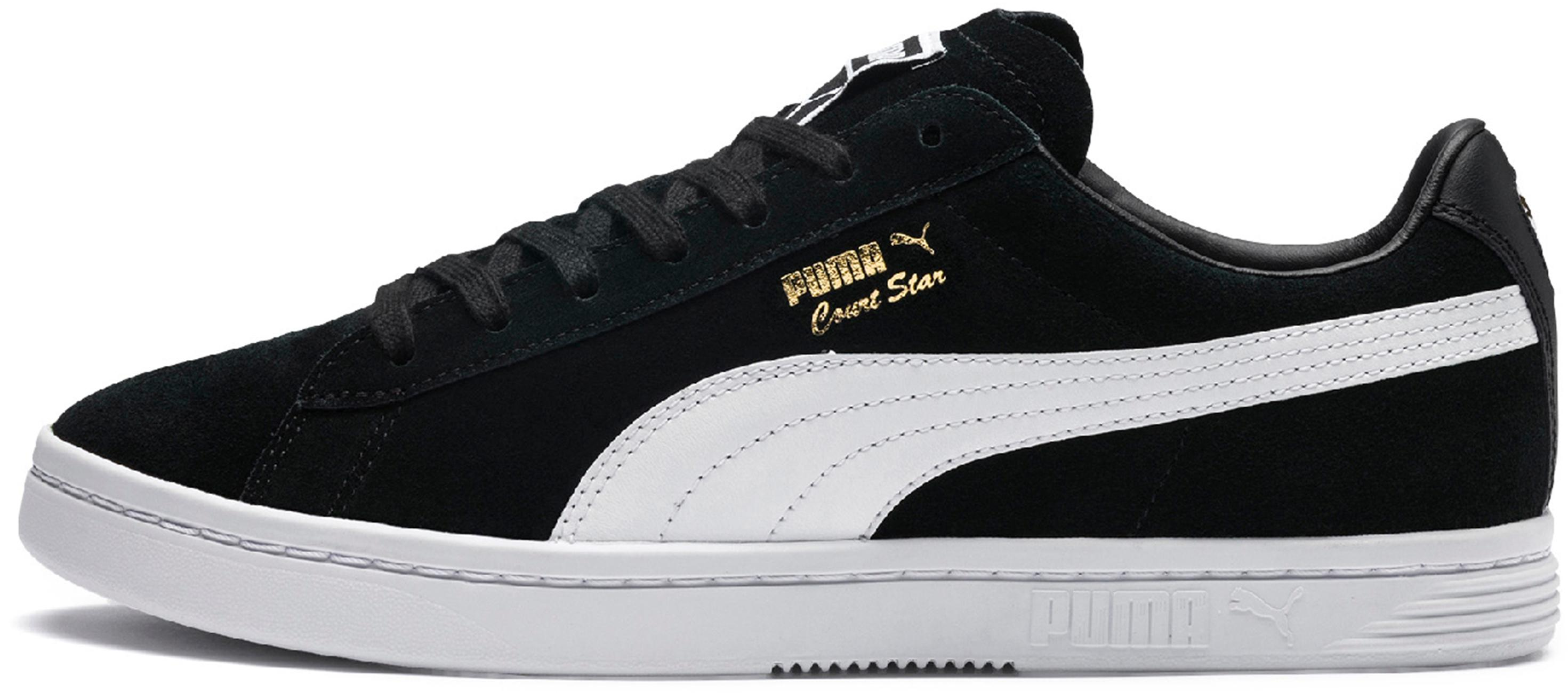 PUMA Court Star FS Turnschuhe Herren puma schwarz-puma schwarz-puma schwarz-puma Weiß im Online Shop von SportScheck kaufen Gute Qualität beliebte Schuhe 34b7d3