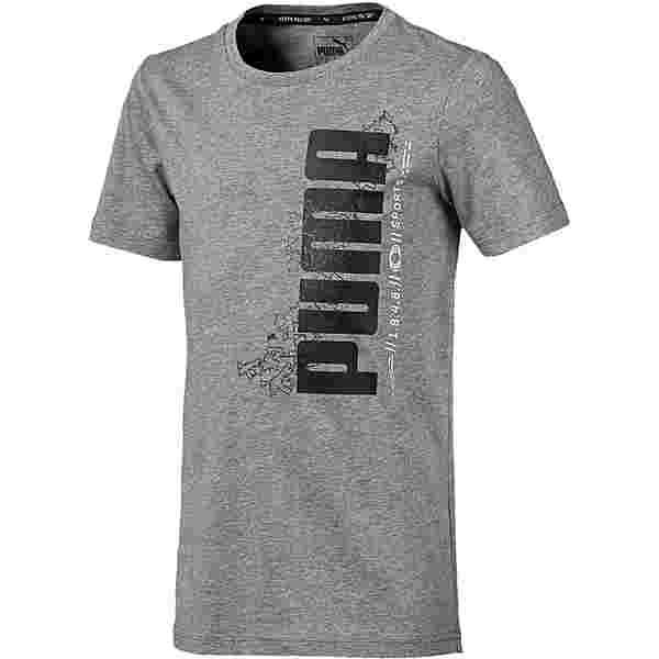PUMA T-Shirt Kinder medium gray heather