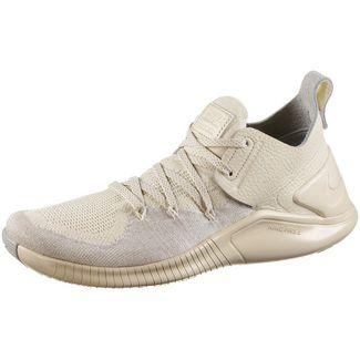 Nike Free Flyknit 3 Fitnessschuhe Damen cream/sail-platinum tint