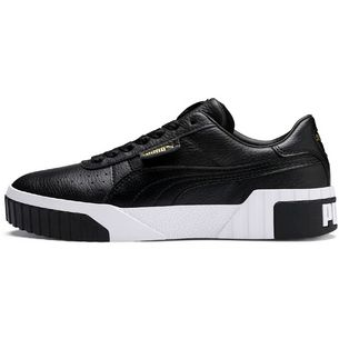 PUMA Cali Sneaker Damen puma black-puma white