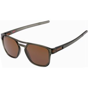 Oakley Latch Beta Sonnenbrille olive ink/prizm tungsten