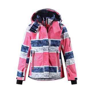reima Frost Skijacke Kinder Strawberry red