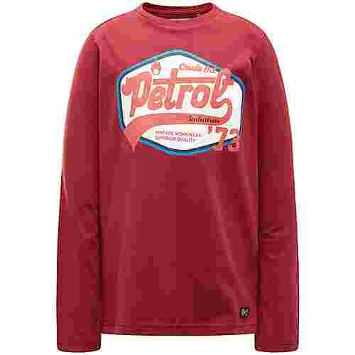 Petrol Industries Sweatshirt Kinder Biking Red