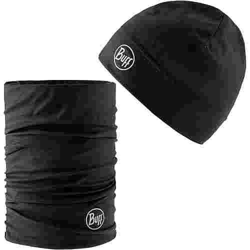 BUFF Set aus Mütze und Multifunktionstuch Beanie black