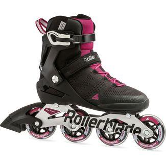 ROLLERBLADE Fitness Skates Damen black-dark pink