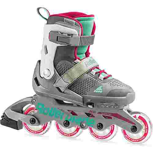 ROLLERBLADE Maxx G Fitness Skates Kinder silver-water blue