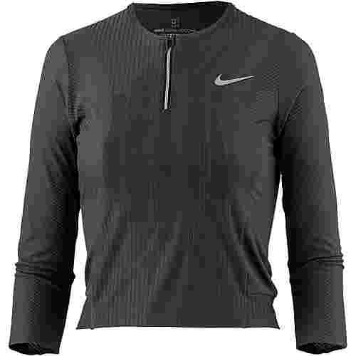 Nike French Open W NKCT ZCL SLAM TOP PS NT Tennisshirt Damen black