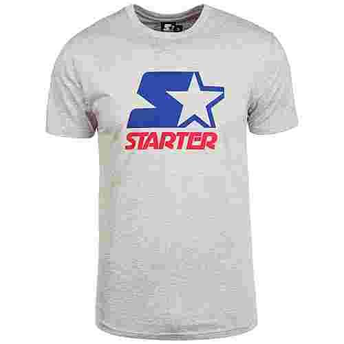 STARTER Charles T-Shirt Herren grau / blau