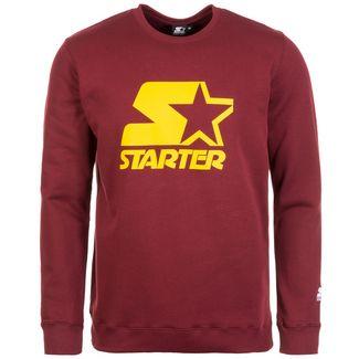 STARTER Shaquille Sweatshirt Herren weinrot / gelb