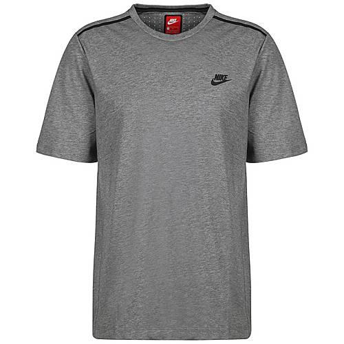 Nike Bonded T Shirt Herren grau schwarz im Online Shop von SportScheck kaufen