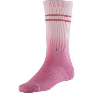 Stance Uncommon Dip Crew Sneakersocken Damen pink