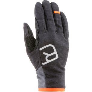 ORTOVOX Fleece Light Glove Fingerhandschuhe Herren dark grey blend