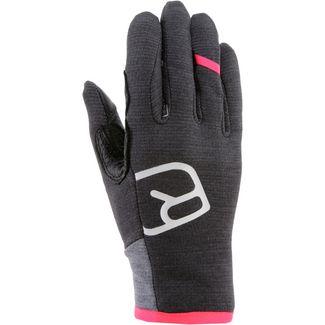 ORTOVOX Fleece Light Glove Fingerhandschuhe Damen dark grey blend