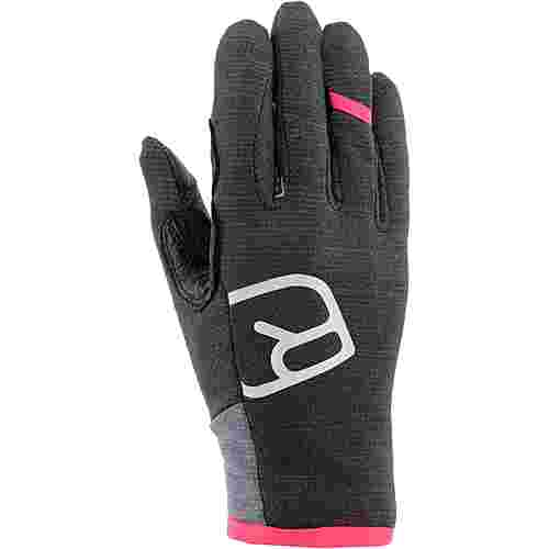 ORTOVOX Fleece Light Glove Fingerhandschuhe Damen dark grey blend