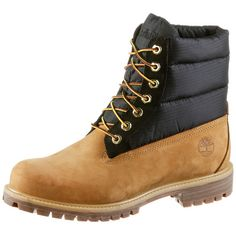 TIMBERLAND 6 Inch Premium Puffer Boots Herren beige-black