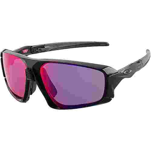 Oakley Field Jacket Sportbrille polished black/prizm road