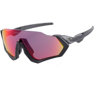 Oakley Flight Jacket Sonnenbrille polished black/prizm road