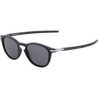Oakley Pitchman Sonnenbrille satin black/prizm grey