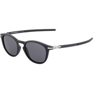 Oakley Pitchman Sonnenbrille satin black/prizm grey