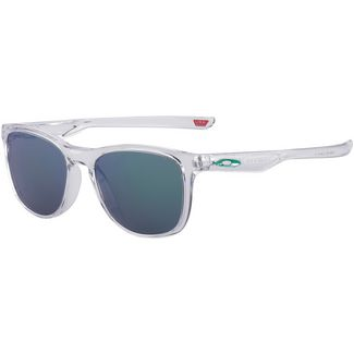 Oakley Trillbe Sonnenbrille polished clear/prizm jade