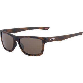 Oakley Holston Sonnenbrille matte brown tortoise/prizm tungsten