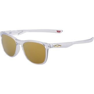 Oakley Trillbe Sonnenbrille polished clear/24K Iridium