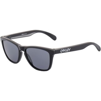 Oakley Frogskins Sonnenbrille polished black/grey