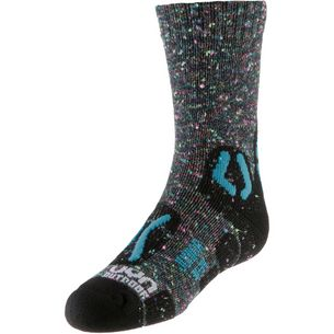 Uyn Wandersocken Kinder grey multicolor-turquoise