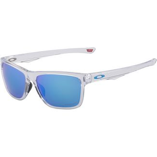 Oakley Holston Sonnenbrille polished clear/prizm sapphire