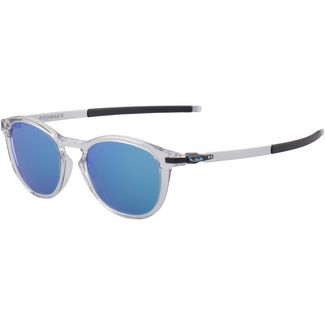 Oakley Pitchman Sonnenbrille polished clear/prizm sapphire