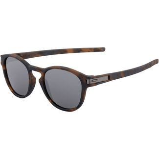 Oakley LATCH Sonnenbrille matte brown tortoise/prizm black