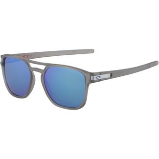 Oakley Latch Beta Sonnenbrille matte grey ink/prizm sapphire polarized