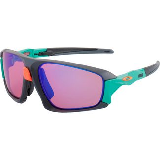 Oakley Field Jacket Sportbrille matte dark grey/prizm trail