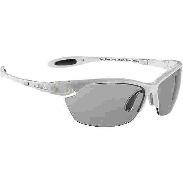 ALPINA TWIST THREE 2.0 VL Sportbrille white