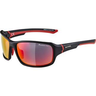ALPINA LYRON Sportbrille black-matt-red