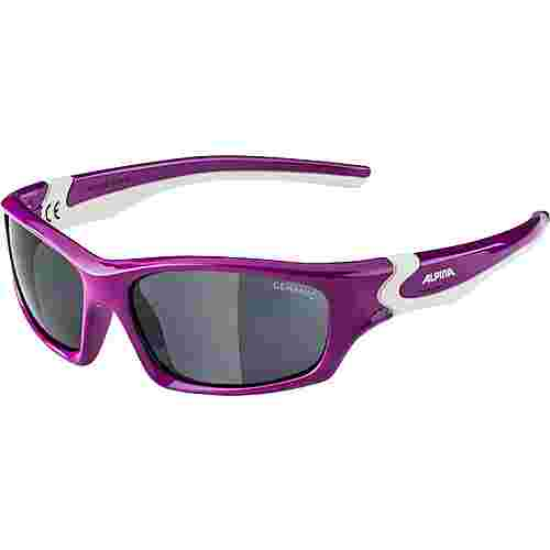 ALPINA FLEXXY TEEN Sportbrille Kinder berry-white